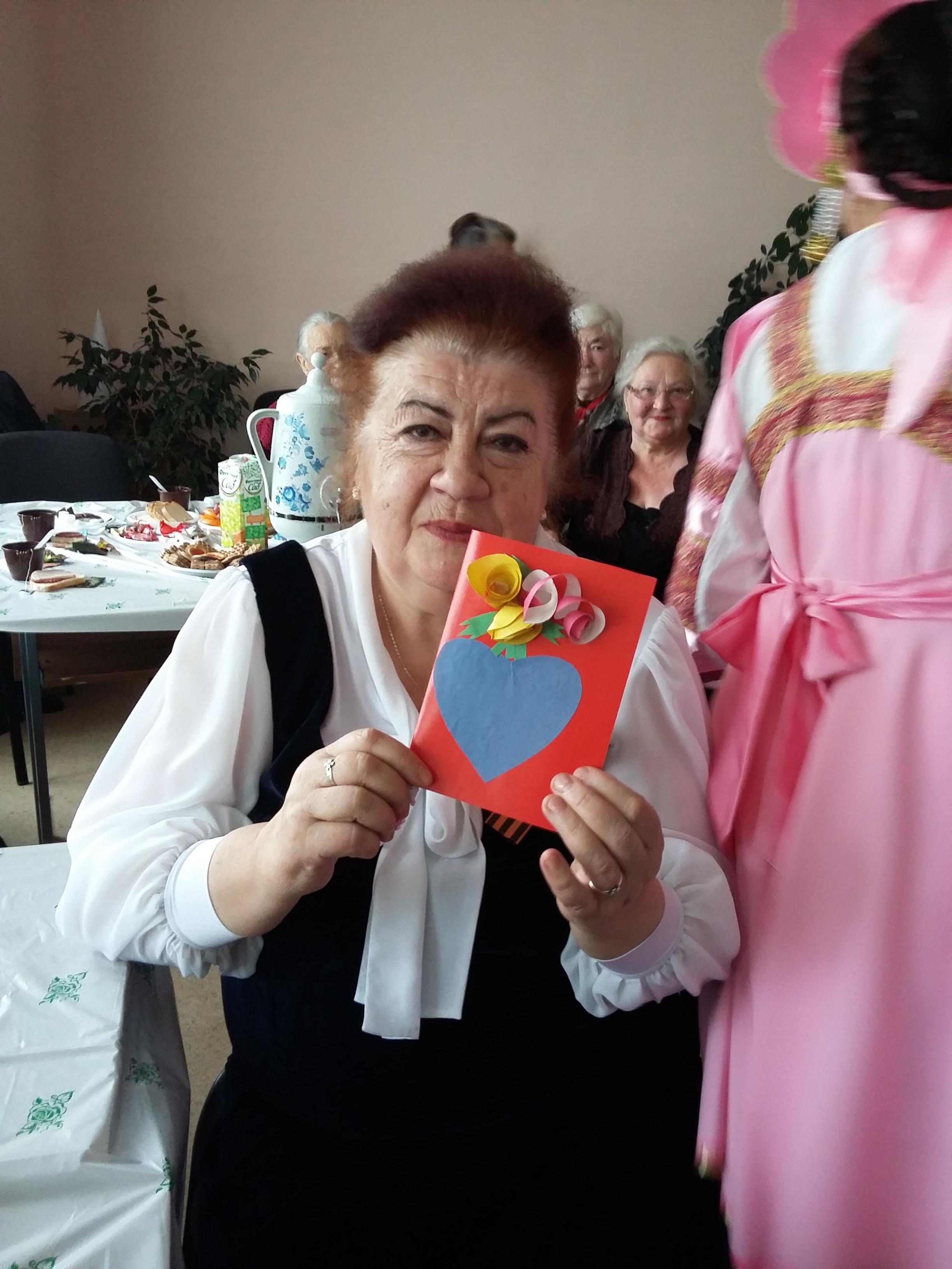 открытка пожилому человеку своими руками фото